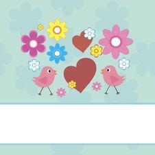 Free Greeting Card Royalty Free Stock Image - 22263116