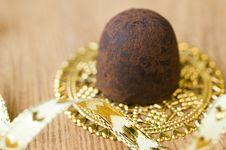 Free Chocolate Truffle Royalty Free Stock Image - 22264066