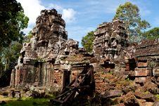 Free Ta Som Temple. Angkor,Cambodia Stock Photography - 22266672