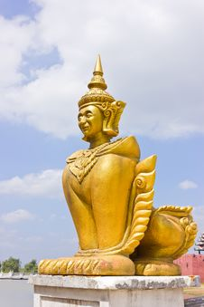 Free Burmese Sculpture Stock Photo - 22269380
