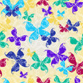 Free Seamless Pattern With Butterflies Royalty Free Stock Photo - 22273765