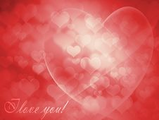 Free Greeting Card For Valentine S Day Royalty Free Stock Photos - 22270098