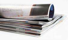 Free Magazines Royalty Free Stock Photos - 22272068