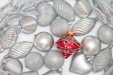 Free Christmas Baubles Stock Photo - 22272110