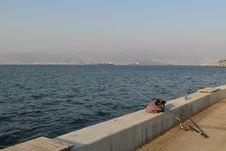 Free Fishing In Izmir Stock Image - 22273201