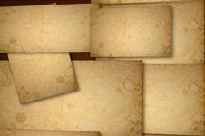 Free Stained Paper Background On Multiple Planes Royalty Free Stock Photos - 22275468