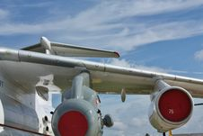 Heavy Transport  Aircraft Stock Images
