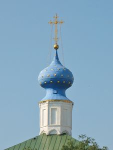 Free Dome Of The Church In Ryazan Kremlin Royalty Free Stock Image - 22276466