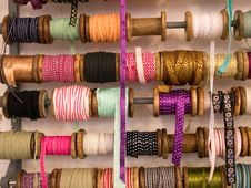 Free Variety Of Decorative Colorful Ribbons Stock Photography - 22278392