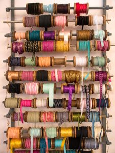 Free Variety Of Decorative Colorful Ribbons Stock Photography - 22278432