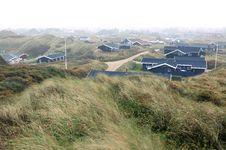 Free Sand Dunes In Blokhus Denmark Stock Photography - 22278802