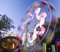 Free Ferris Wheel In Motion Royalty Free Stock Photos - 22281248