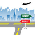 Free Victory And Defeat Stock Photo - 22287130