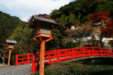 Free Japanese Bridge Stock Photography - 22282332