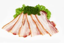 Free Sliced Pork Stock Photography - 22282912