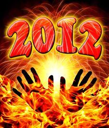 Free 2012  New Year Stock Photo - 22283990