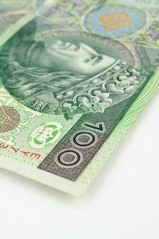 Free Money  On White Royalty Free Stock Photography - 22286047