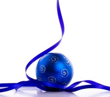 Free Blue Bauble Stock Photos - 22288623
