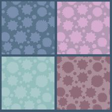 Free Collection Of Abstract Seamless Patterns Royalty Free Stock Photos - 22289378