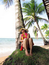 Free Woman On Beach Royalty Free Stock Photography - 22298537