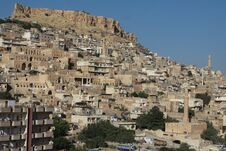 A View Of Mardin. Royalty Free Stock Photos
