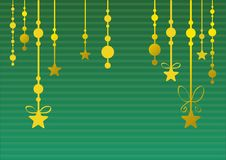 Free Abstract Christmas Background (green) Royalty Free Stock Photography - 22291997