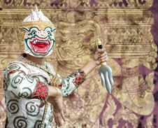 Free Ancient Ramayana Picture Stock Image - 22293621
