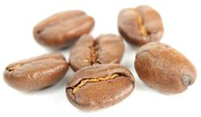 Free Brown Roasted Coffee Beans Close-up Royalty Free Stock Image - 22293836