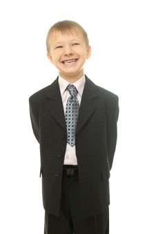 Free Young Businessman Boy Stock Photos - 22294903