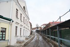 Free Street In The Central Part Of Minsk Royalty Free Stock Images - 22295599