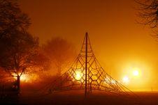 Free Playground At Night Stock Photography - 22297692