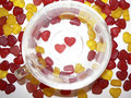 Free Shiny Hearts Royalty Free Stock Image - 2230426