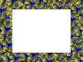 Free Frame From Metal Flowers Royalty Free Stock Images - 2236199