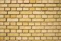 Free Yellow Brick Wall Stock Image - 2238031