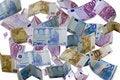 Free Money Rain Royalty Free Stock Photo - 2239605