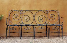 Free Metal Bench Stock Image - 2230761