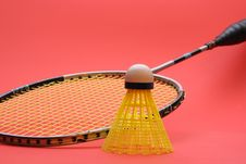 Free Badminton Racket Stock Image - 2230811