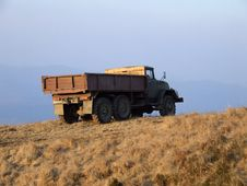Free Truck On The Hill Stock Photography - 2231242