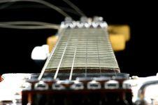 Center Of A Guitar Stock Photos