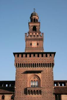 Free Milan. Sforzesco Castle Royalty Free Stock Image - 2231836