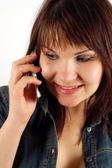 Free Phone Woman 14 Stock Photography - 2231952