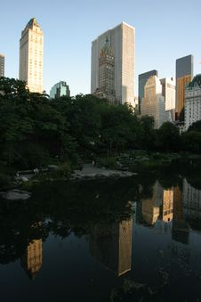 Free Central Park Lake Stock Photo - 2232310