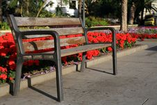 Free Park Bench Royalty Free Stock Images - 2232369