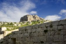 Free Eurialo Greek Castle Royalty Free Stock Photography - 2232437