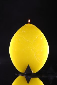 Free Wax Candle Royalty Free Stock Photography - 2232617