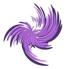 Free Wisps And Swirls Purple Spiral Royalty Free Stock Image - 2232756