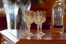 Free Crystal Glasses Stock Photography - 2236142