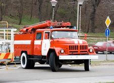 Free Fire Truck Royalty Free Stock Image - 2237216