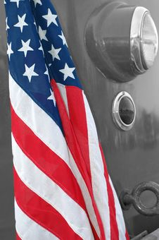 Free Stars And Stripes Royalty Free Stock Photo - 2237985