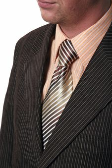 Free Businessman Undressing Royalty Free Stock Photography - 2238127